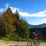 Bergradeln zur Rudersburg